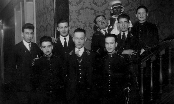 Staff Of Peebles Hydro Hotel 1920s
