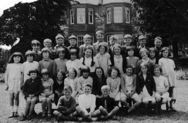 Peebles School Class Portrait 1930