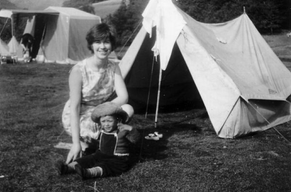 Camping Holiday By Loch Lomond 1965