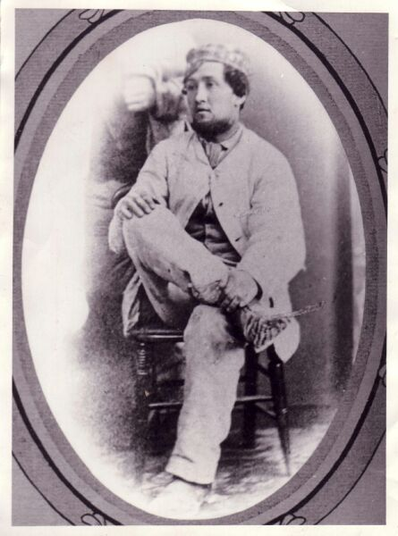 Victorian Studio Portrait Plasterer c.1870