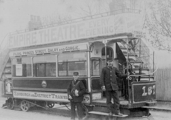 Tram Driver And Conductor c.1900