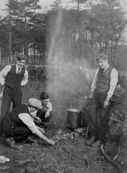 Boys Brigade Camp Heating Urn 1920s
