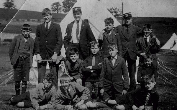 Boys Brigade Camp c.1930