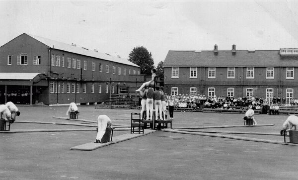 Naval College Physical Education Display, early 1960s