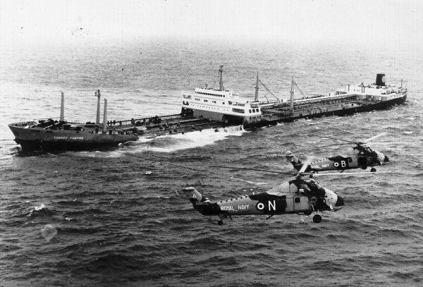 Wreck Of The Torrey Canyon, 19th March 1967