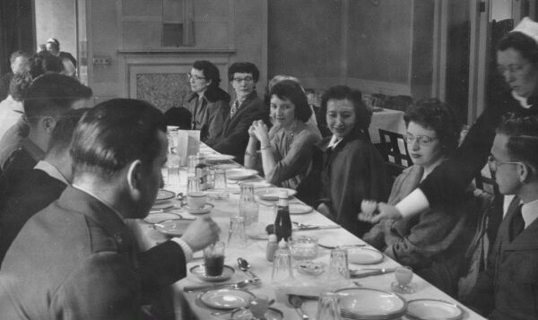Diners Awaiting Their Meal c.1958