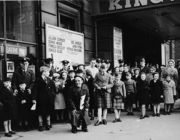 Queueing Up For A Matinee Performance Of Showboat At The King's Theatre, late 1950s