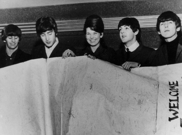 The Beatles At The Roman Camp Hotel In Callander 1963