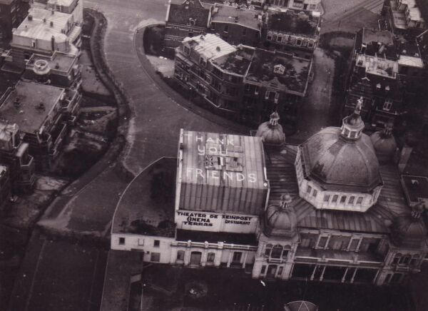 Rooftop Message Of Thanks 1945