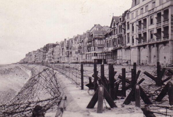 Fortified Beach Front In Belgium 1945