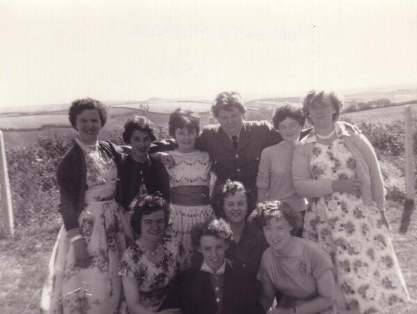 Women On Working Holiday In Devon 1955