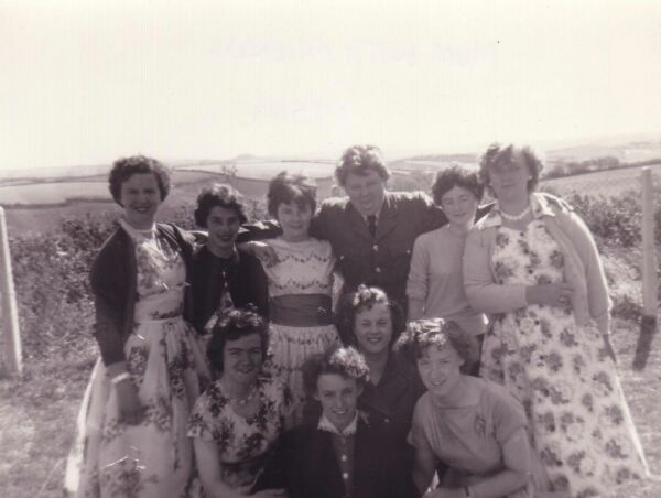 Women On Devon Holiday 1955