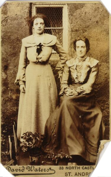 Portrait Of Two Sisters 1890s