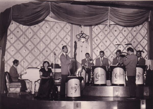 Revolving Band Stand At The Palais De Danse, late 1950s