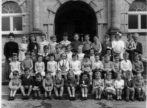 Ormiston Primary School Primary One Class Portrait 1958