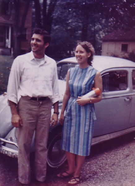 Young Couple On Journey From East To West Coast USA, August 1965