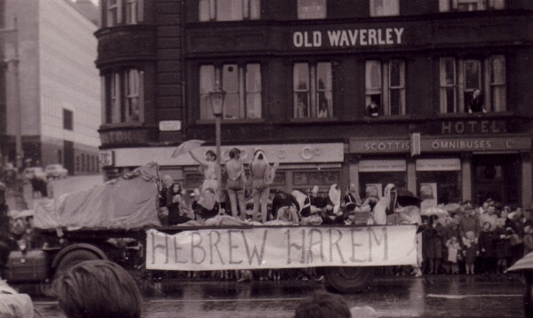 Student Charity Parade Through Princes Street 1960s