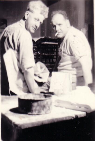 Break From Baking Bread 1960s