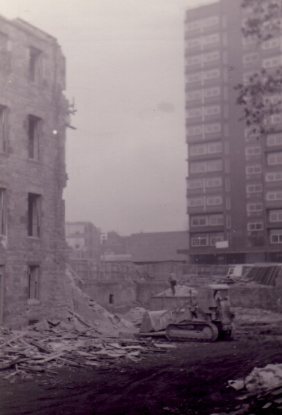 Demolition Of Buildings In George Square 1960s