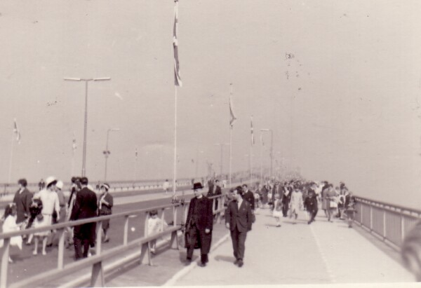 Opening Of The Forth Road Bridge 4th Sept 1964