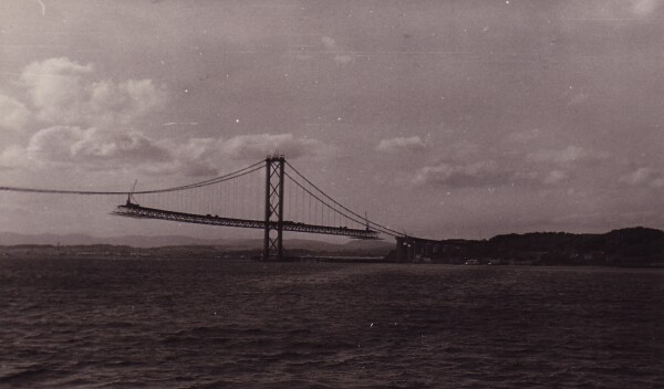 Construction Of Forth Road Bridge 1958-1964