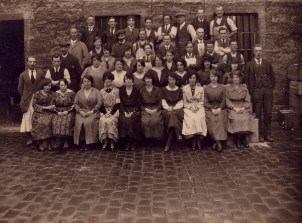 Group Portrait Warehouse Workers 1900s