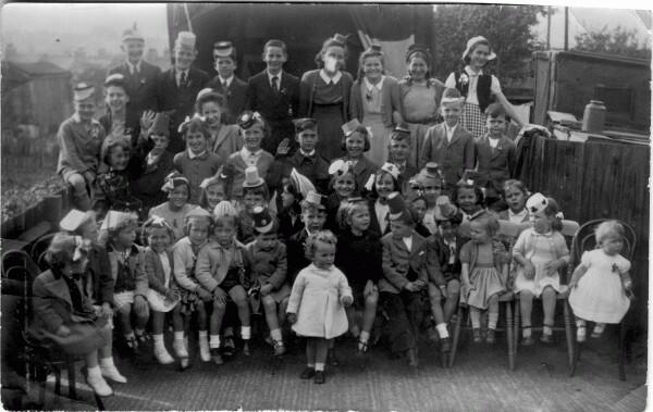 Children Celebrating VE Day 1945