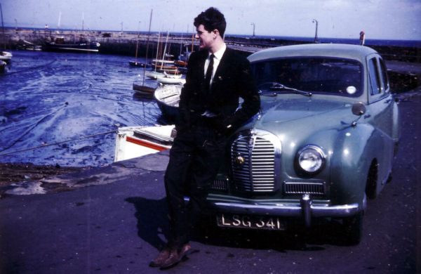 Young Man On A Saturday Morning At Fisherrow Harbour 1965