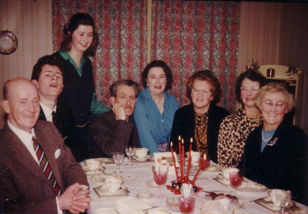 Christmas Day Dinner 1963
