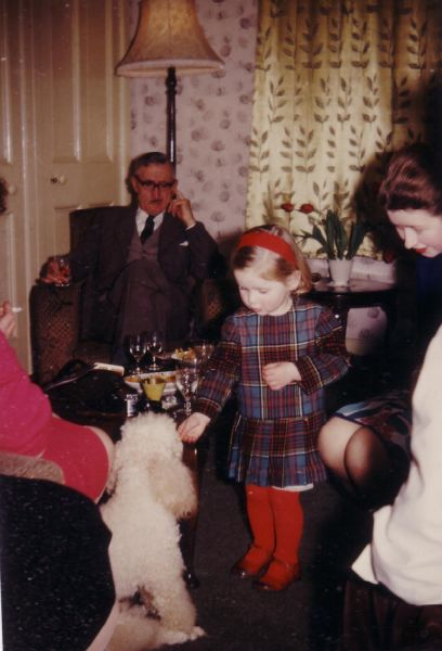 New Year's Day Family Gathering At 43 Northfield Crescent 1964
