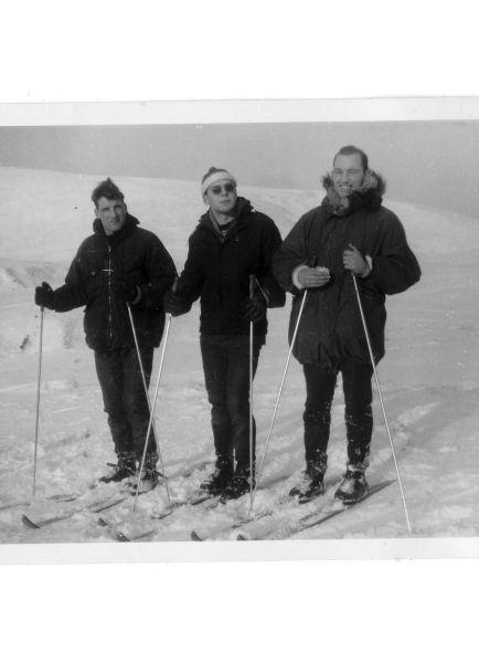Skiers In The Pentlands Taking Advantage Of A Hard Winter 1962