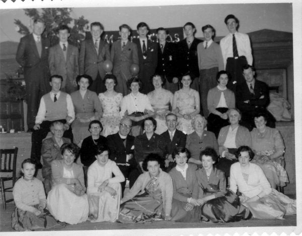 Portobello Old Parish Church Bible Class Christmas Dance c.1957