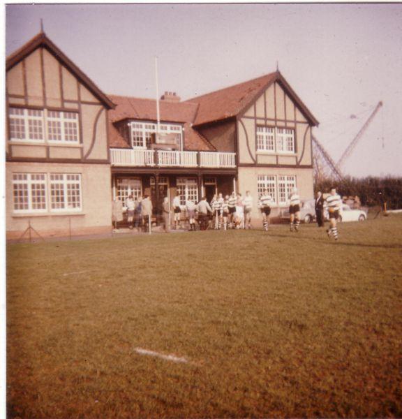 Royal High School Former Pupils Rugby Football Club Team 1960s