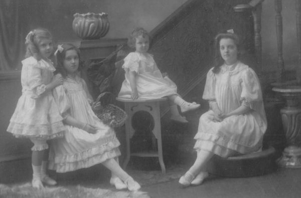 Studio Portrait Four Sisters c.1896