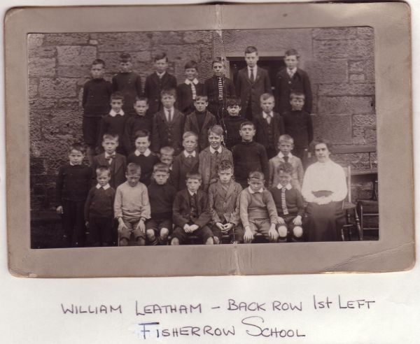 Fisherrow School Class Portrait c.1918