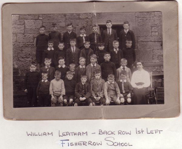 Fisherrow School Class Portrait c.1918