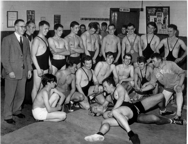 Members Of The Milton Amateur Wrestling Club 1962