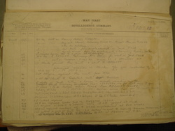 97th Coy. Royal Engineers War Diary extract