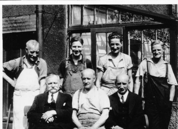 Workers Of Waterston's Sealing Wax Works At St John's Hill 1930s