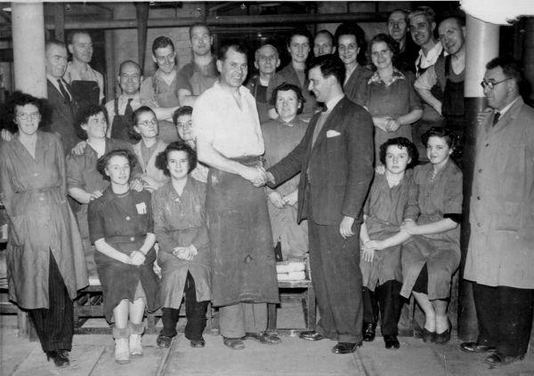 Celebratory Occasion At The North British Rubber Company 1950s