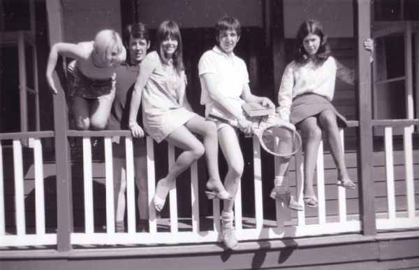 Young Ones On Holiday At Annex Of Bonskeid House, July 1968