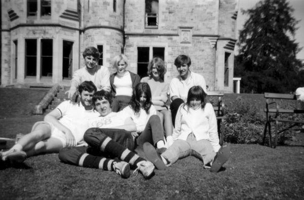 Group Of Friends On Holiday At Bonskeid House, July 1968