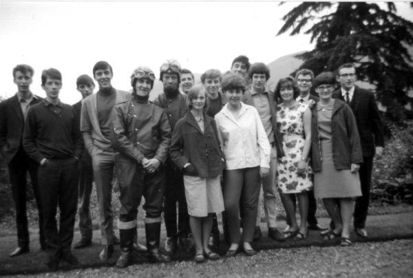 Group Portrait Taken At End Of Holiday At Bonskeid House, July 1965