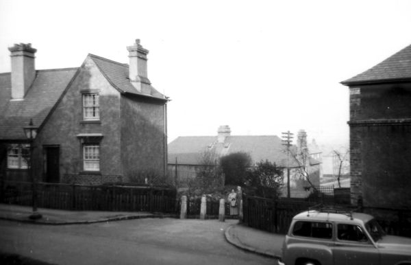 View From Northfield Crescent Toward Northfield Broadway c.1955