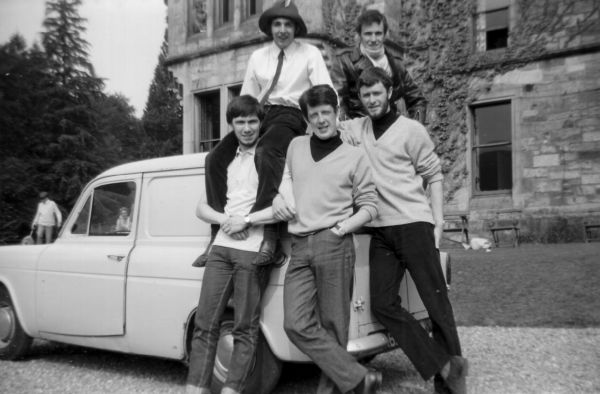 Young Adults On Holiday At Bonskeid House Hostel 1968