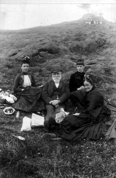 Victorian Picnic Outing c.1900