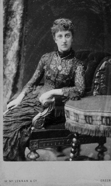 Studio Portrait Victorian Lady c.1900