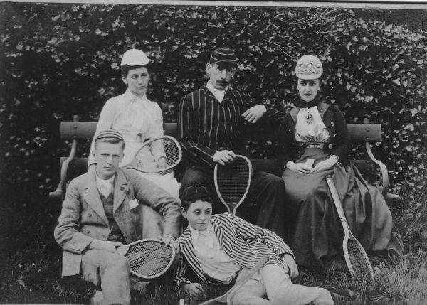 Victorian Tennis Players 1890s