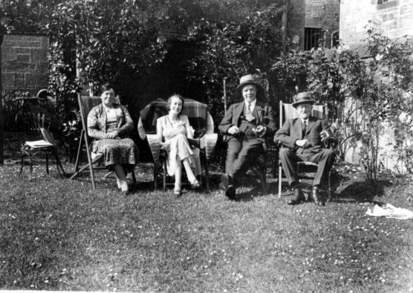 A Sunday Afternoon In The Garden At 17 Strathearn Road, 25th June 1933