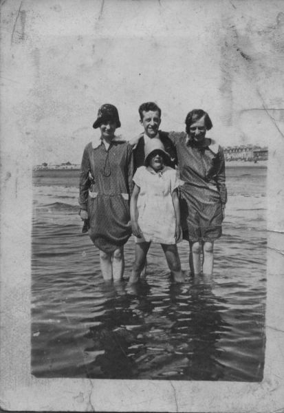 Family Outing To The Seaside, July 1929